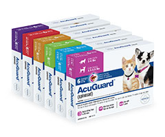 Vethical Acuguard Flea Prevention For Pets